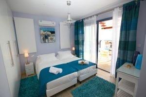 Meltemi Villas - Second bedroom in first floor