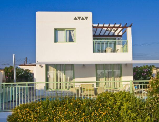 meltemi villas - exterior of the villa alternative villa option