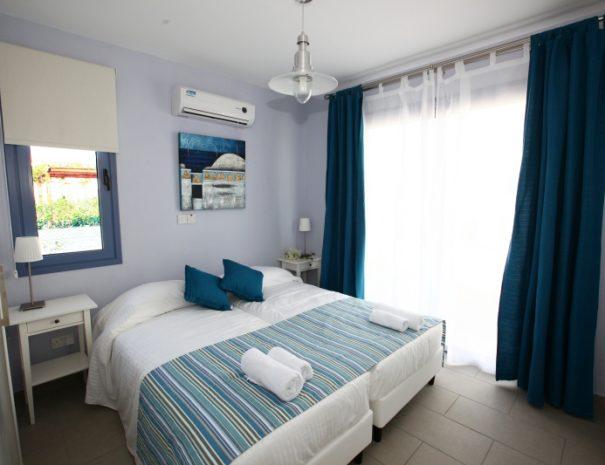 meltemi villas - ground floor bedroom